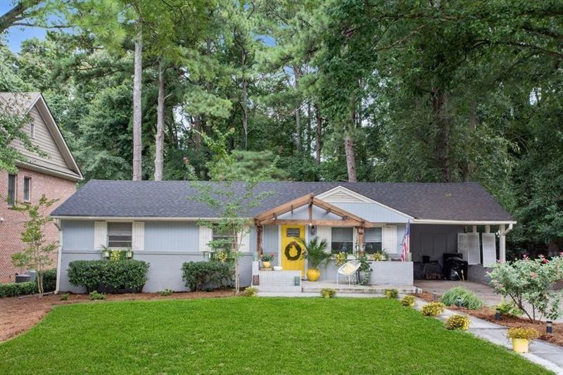 Image for property 1872 Canmont Drive, Brookhaven, GA 30319