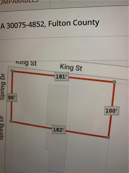 Image for property 110 Spring Drive, Roswell, GA 30075