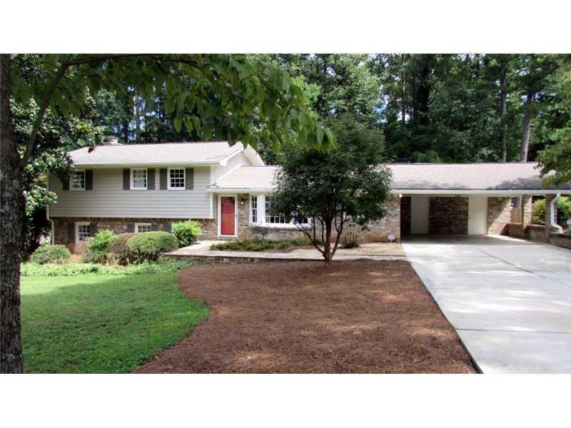 Image for property 1584 Chateau Drive, Dunwoody, GA 30338