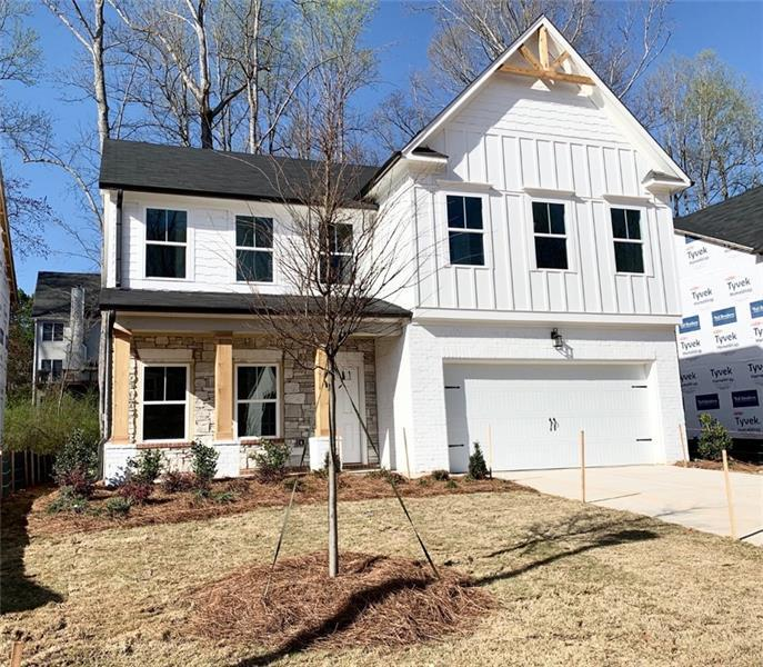 Image for property 161 Crest Brooke Drive, Holly Springs, GA 30115
