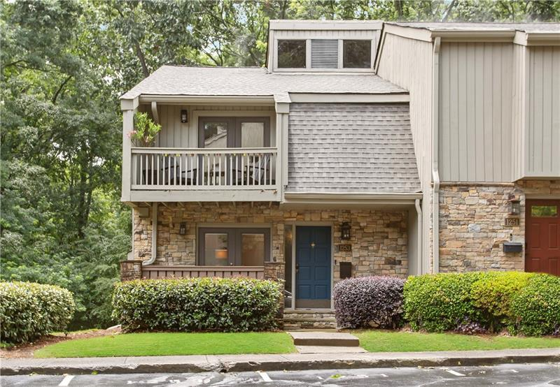 Image for property 1253 DRUID KNOLL Drive 1253, Brookhaven, GA 30319