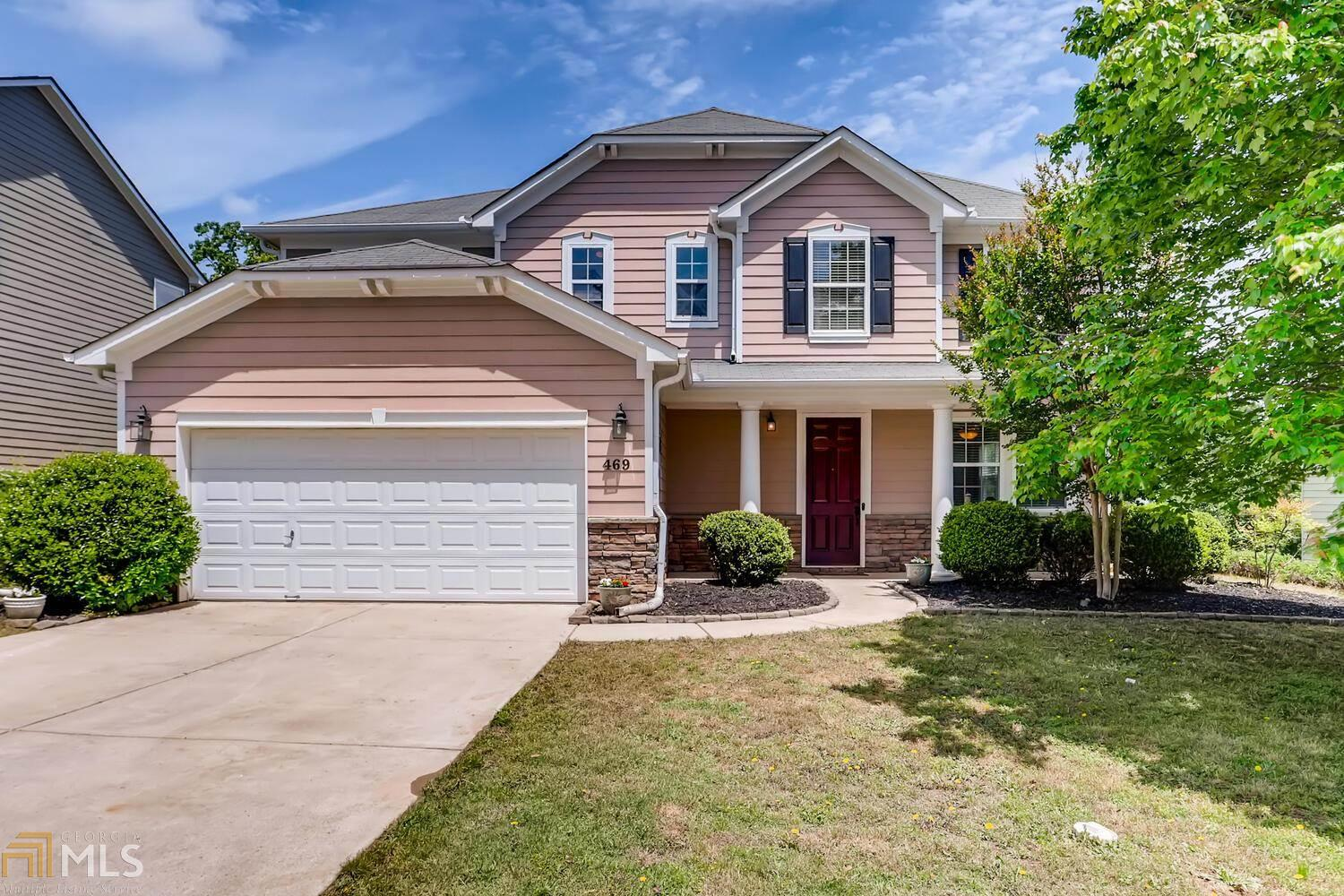 Image for property 469 Branch Valley Drive, Dallas, GA 30132-0834