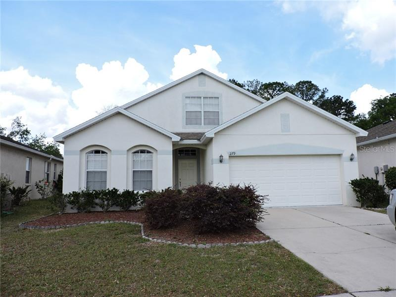 Image for property 279 FAIRMONT DRIVE, SPRING HILL, FL 34609
