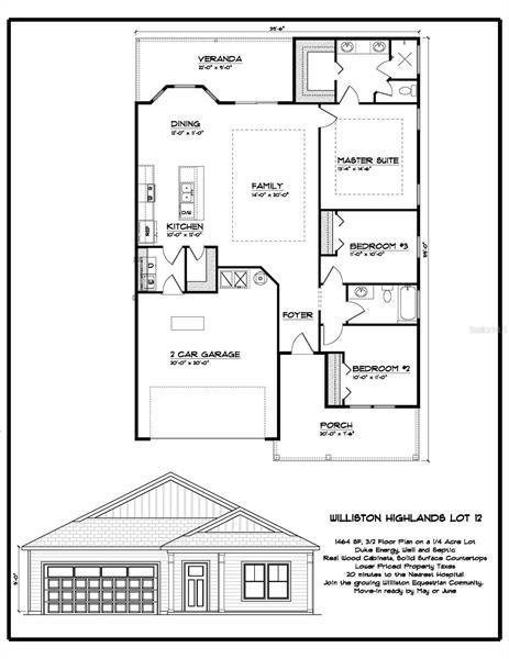 Image for property 15591 14TH PLACE, WILLISTON, FL 32696