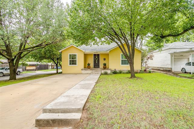 Image for property 5036 Lovell Avenue, Fort Worth, Texas 76107