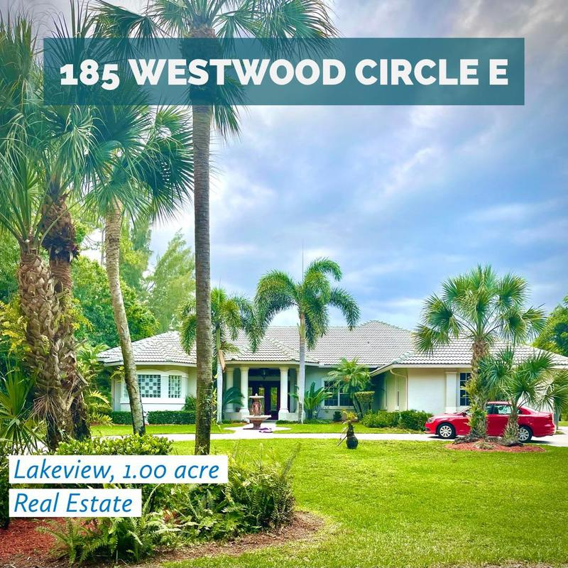 Image for property 185 Westwood Circle, West Palm Beach, FL 33411