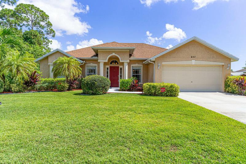 Image for property 657 Ray Avenue, Port Saint Lucie, FL 34983